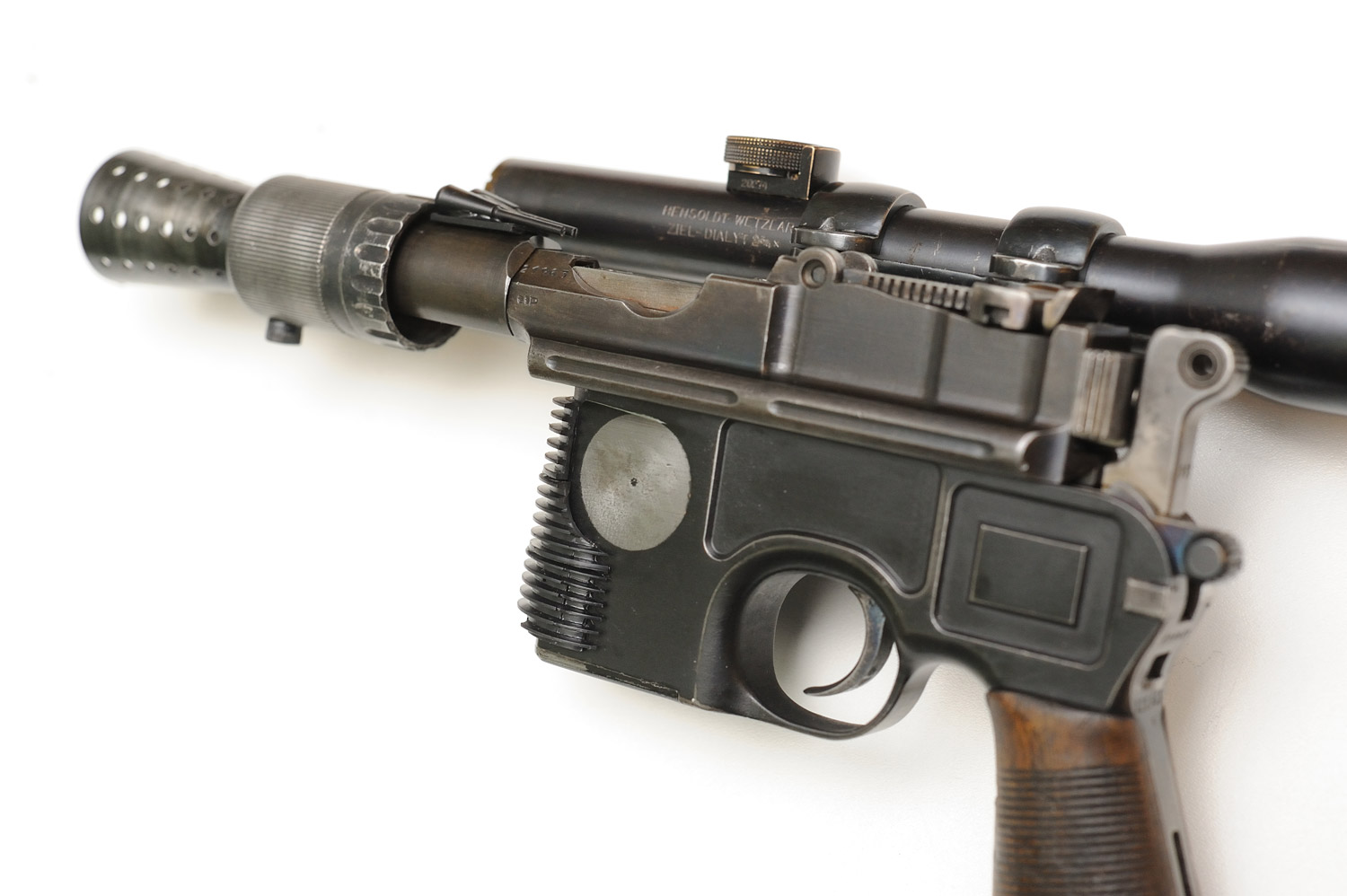 Live Fire Han Solo Dl 44 Blaster First Of 2016