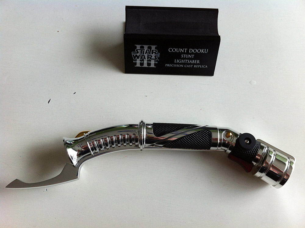Fs Efx Dooku Custom Machined Anakin Aotc 1 1 Ultra